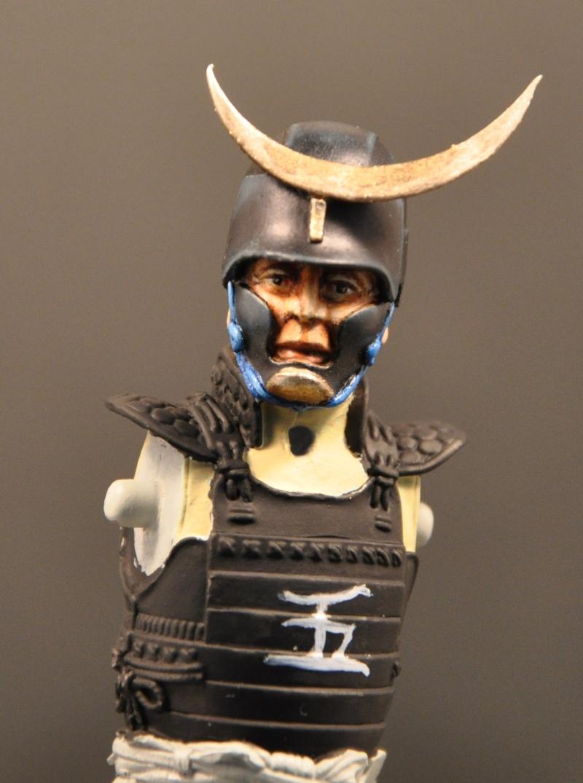 Samourai à cheval période Momoyama. 90 mm Bonapartes/Poste militaire Terminé Dsc_0021