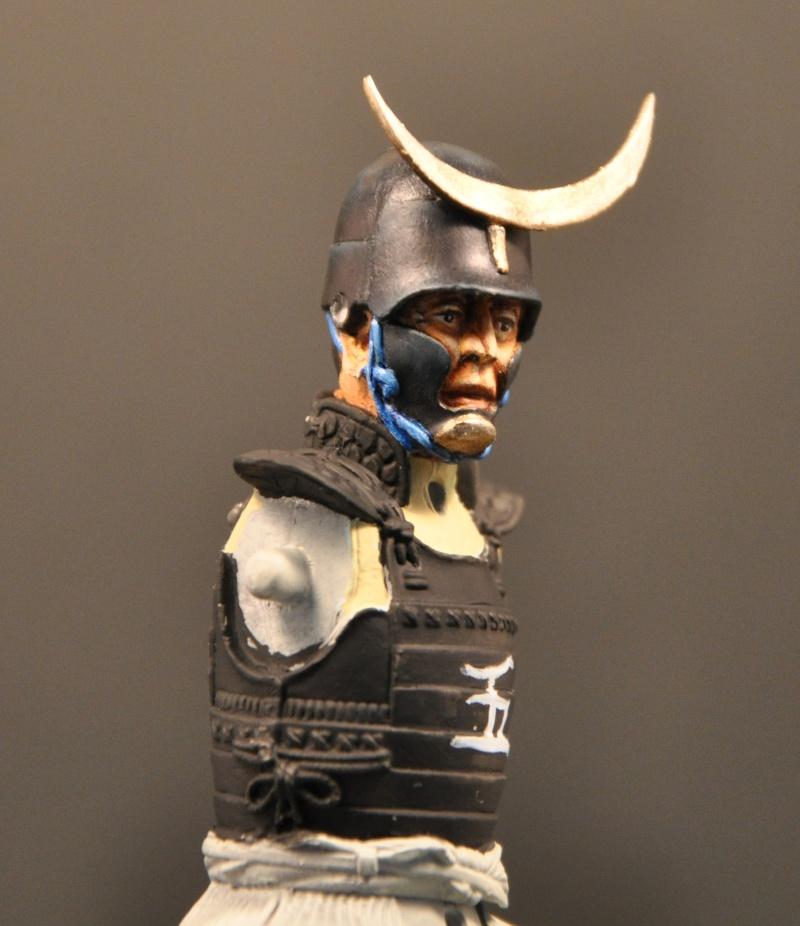 Samourai à cheval période Momoyama. 90 mm Bonapartes/Poste militaire Terminé Dsc_0022