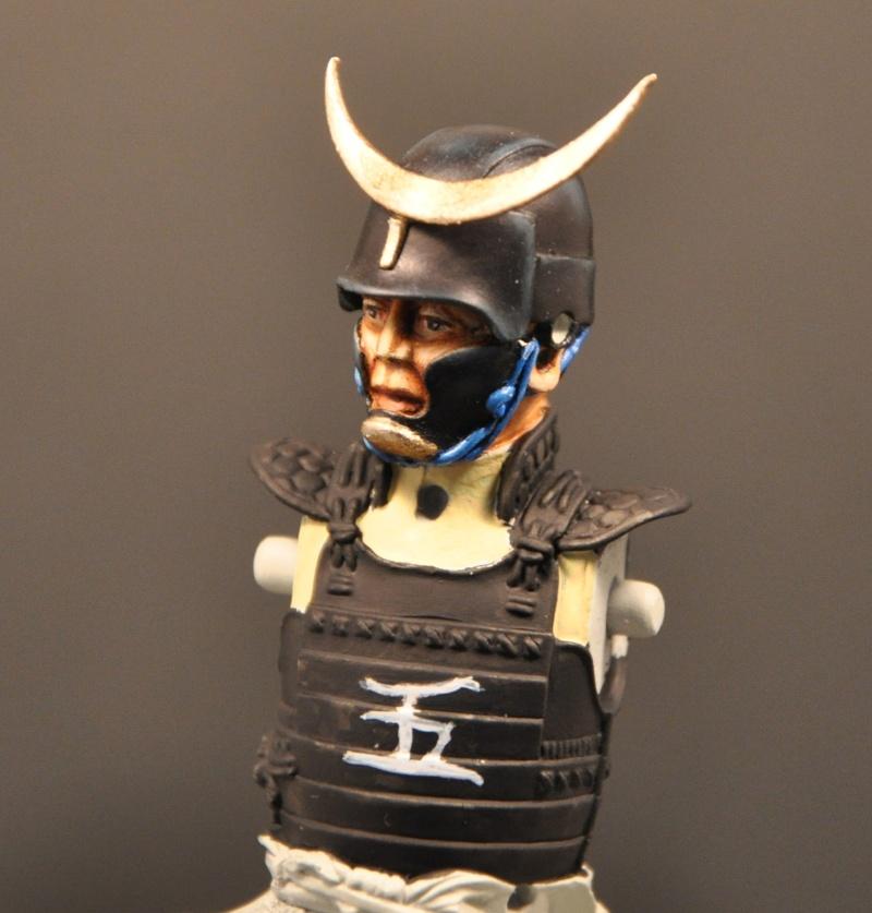 Samourai à cheval période Momoyama. 90 mm Bonapartes/Poste militaire Terminé Dsc_0023