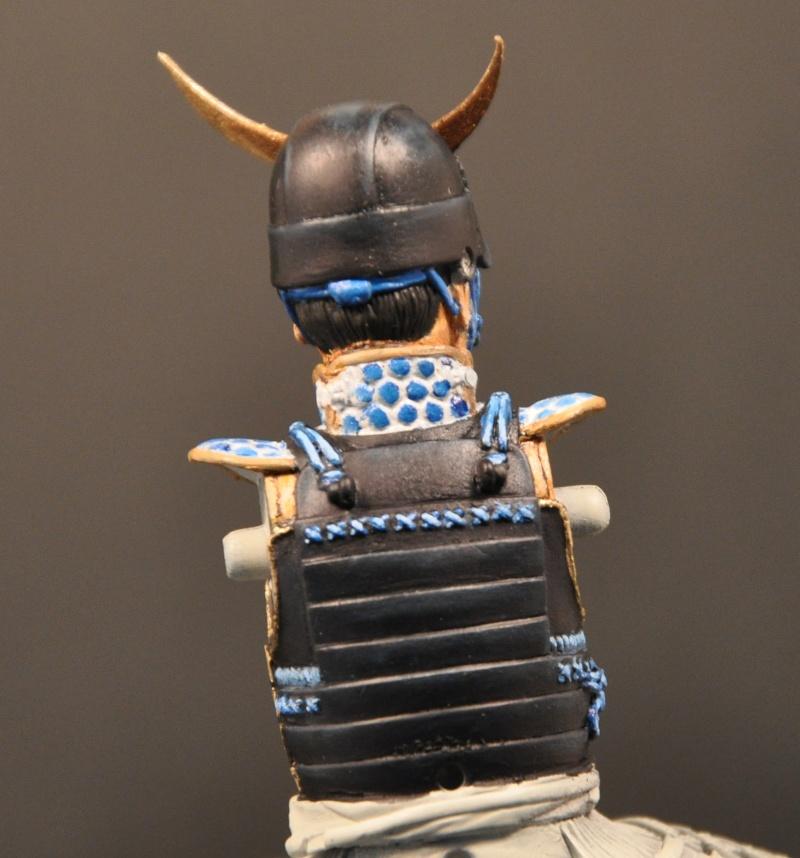 Samourai à cheval période Momoyama. 90 mm Bonapartes/Poste militaire Terminé Dsc_0026