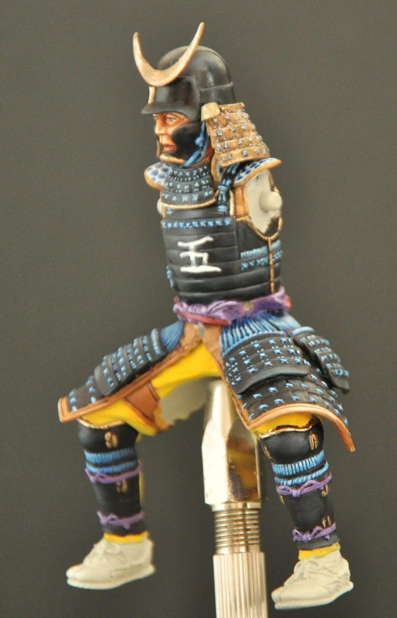 Samourai à cheval période Momoyama. 90 mm Bonapartes/Poste militaire Terminé Dsc_0030