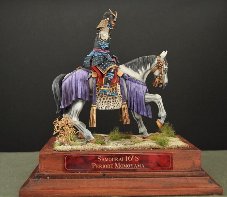 Samourai à cheval période Momoyama. 90 mm Bonapartes/Poste militaire Terminé Dsc_0032