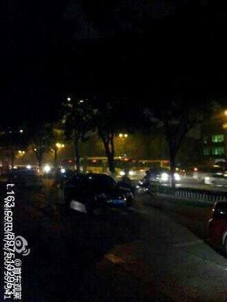 Pollution à Pekin : Il fait nuit à midi !  Noon210
