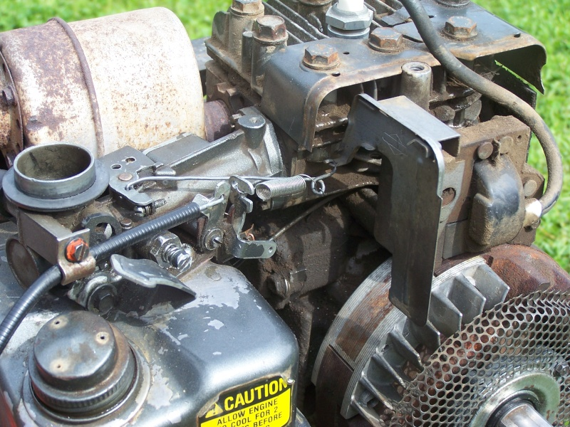 Réglage moteur Briggs 5 cv . Reglag10