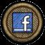 ايقونات اجتماعية لون بني خشبي - ايقونات بمقاس 64*64 -3 - صفحة 3 Facebo14