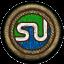 ايقونات اجتماعية لون بني خشبي - ايقونات بمقاس 64*64 -7 Stumbl12