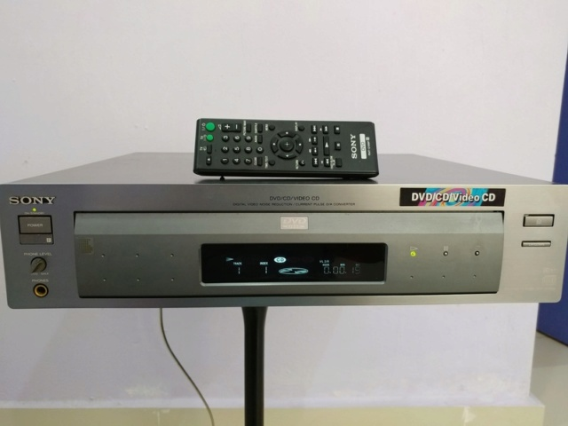 Sony DVP-S7000 Flagship DVD CD Player and Standalone Transport with Remote 20180132