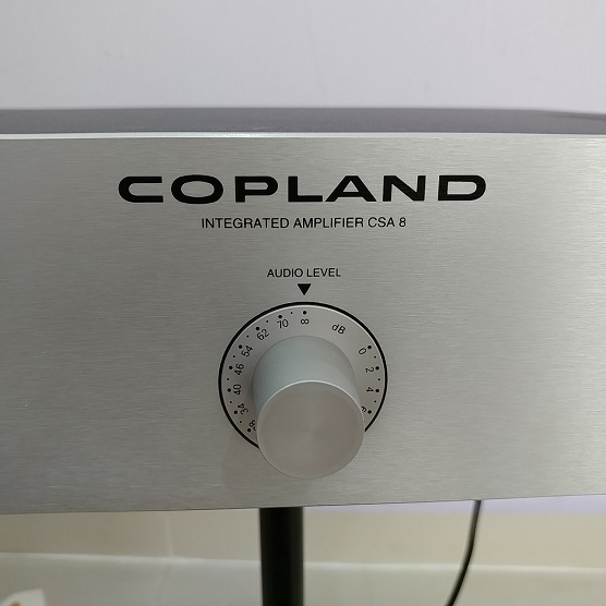 COPLAND CSA-8 Minimalist Stereo Integrated Sweden Made Amplifier 20180663
