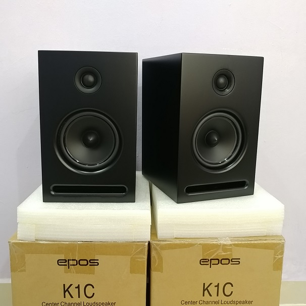 EPOS K1C England BookShelf Speaker ( NEW PAIRS) 20180710