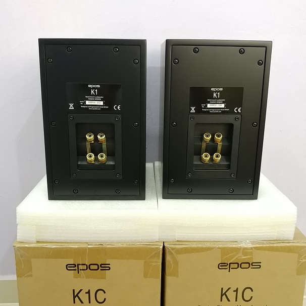 EPOS K1C England BookShelf Speaker ( NEW PAIRS) 20180711