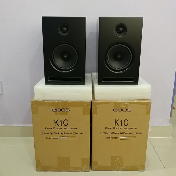 EPOS K1C England BookShelf Speaker ( NEW PAIRS) 20180712