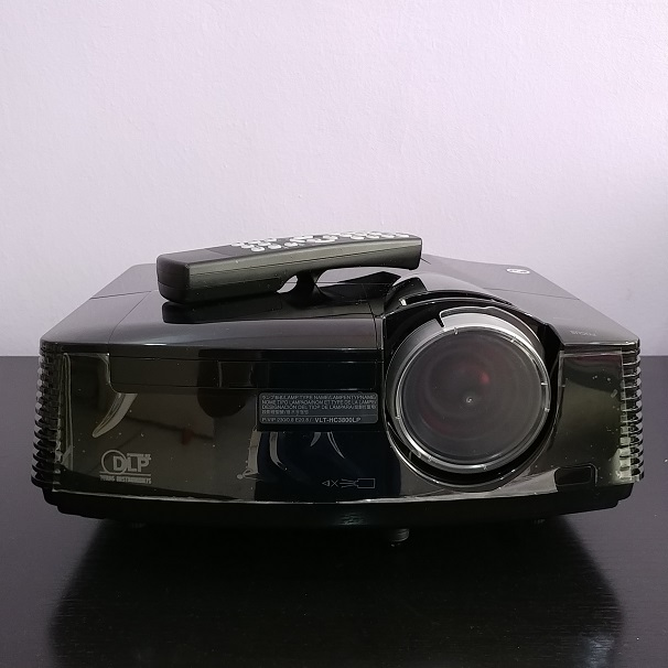 Mitsubishi HC4000 HDMI 300-Inch 1080p Front Projector (Black)  20180843