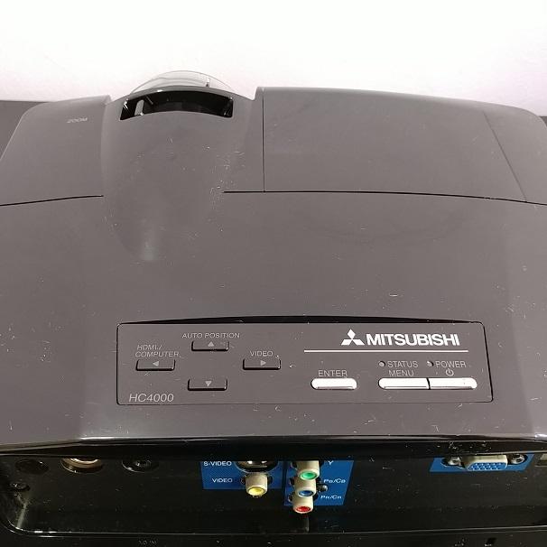 Mitsubishi HC4000 HDMI 300-Inch 1080p Front Projector (Black)  20180847