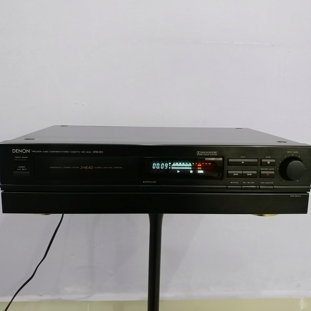 Denon 3-Head cassette deck DRS-810 Hi-Fi tape player 20180940