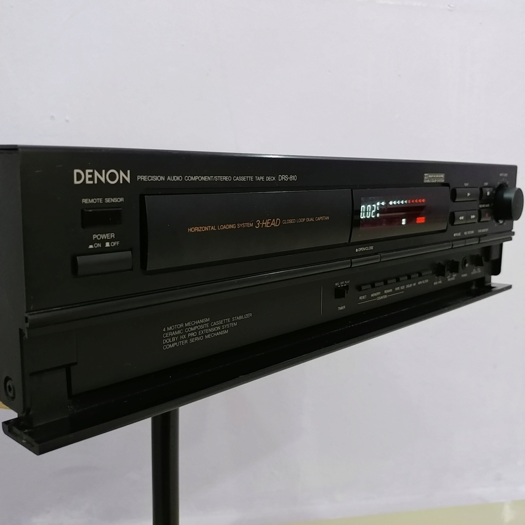 Denon 3-Head cassette deck DRS-810 Hi-Fi tape player 20180941