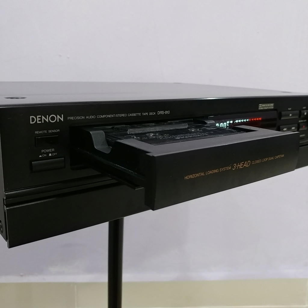 Denon 3-Head cassette deck DRS-810 Hi-Fi tape player 20180942