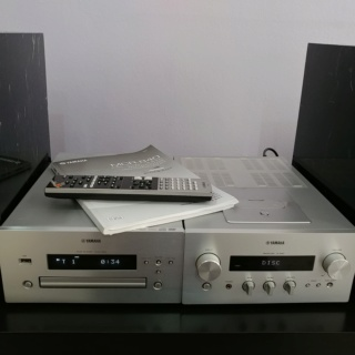Yamaha MCR-840 Micro Hi Fi Component System 20180953