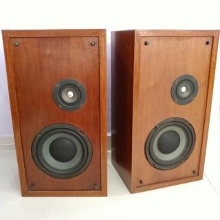 Vintage 70's Altec Lansing Model One Series II Stand Mount Speaker 20181018