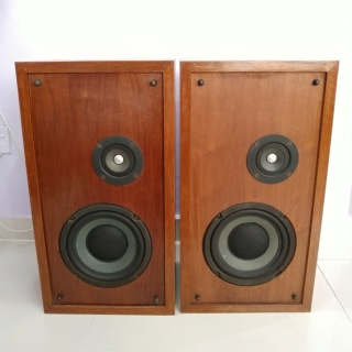 Vintage 70's Altec Lansing Model One Series II Stand Mount Speaker 20181019
