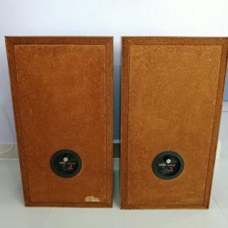 Vintage 70's Altec Lansing Model One Series II Stand Mount Speaker 20181020