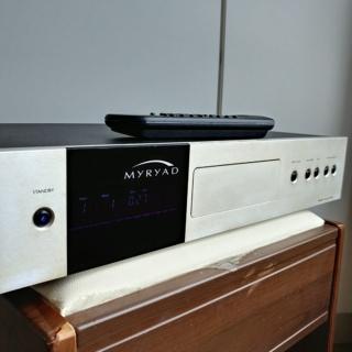Myryad MCD-200 England Made CD Player with Orignal Remote 20181038