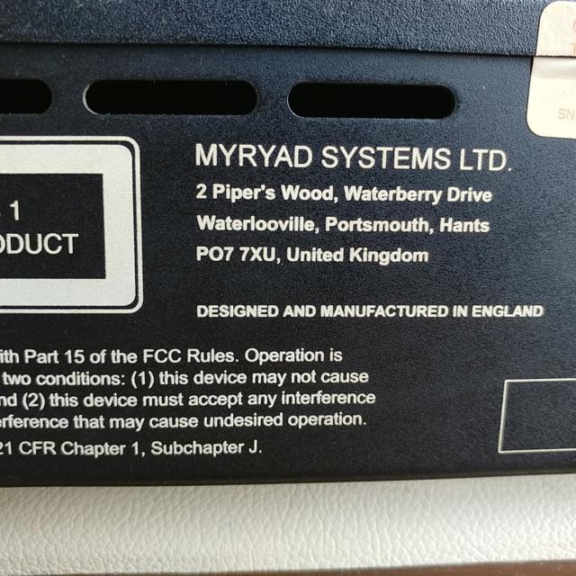 Myryad MCD-200 England Made CD Player with Orignal Remote 20181042
