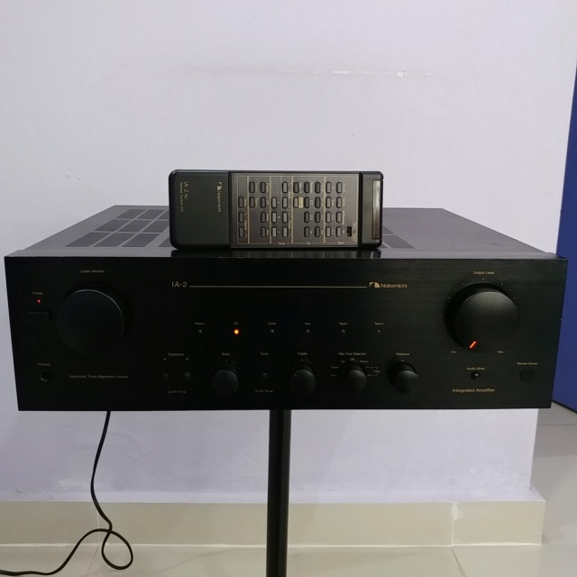 Nakamichi IA-2 Stereo Integrated Amplifier with Remote Phono MM MC 20181210