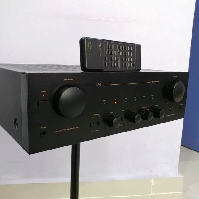 Nakamichi IA-2 Stereo Integrated Amplifier with Remote Phono MM MC 20181211