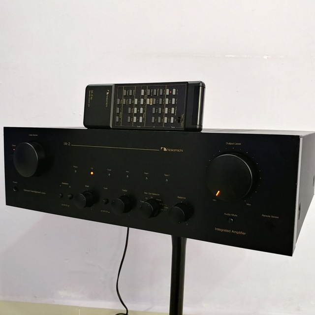 Nakamichi IA-2 Stereo Integrated Amplifier with Remote Phono MM MC 20181212