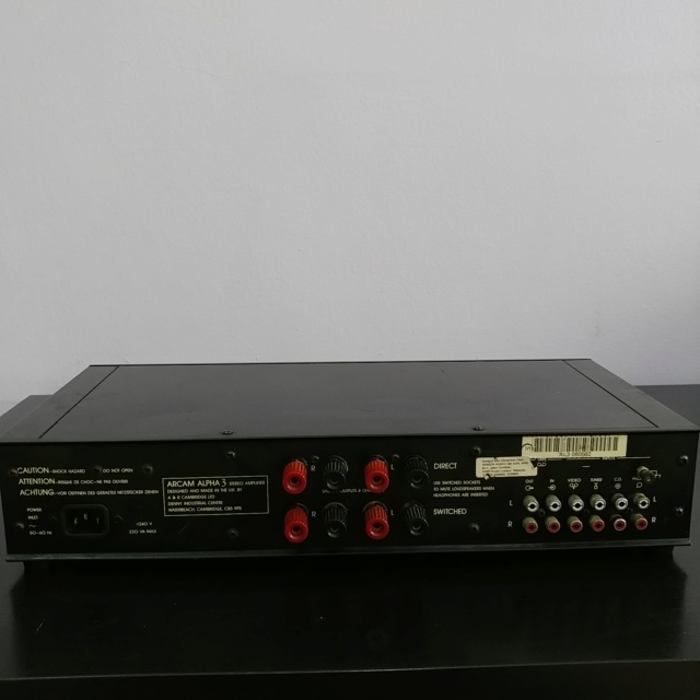Arcam Alpha 3 England Made Stereo Integrated Amplifier with Phono 20190115