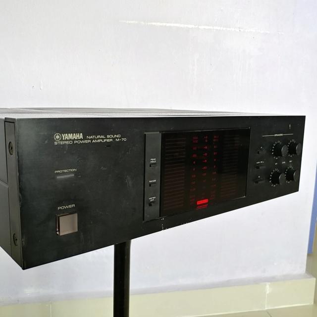 Yamaha M-70 Stereo 200 Watts Per Channel Power Amplifier 20190124