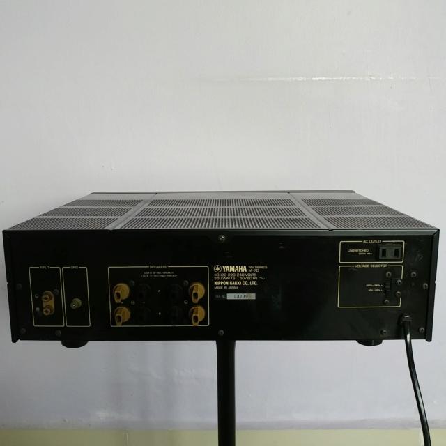 Yamaha M-70 Stereo 200 Watts Per Channel Power Amplifier 20190125