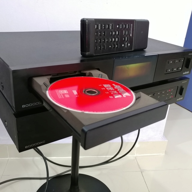 Audiolab 8000 England Made CD transport and DAC  20190211