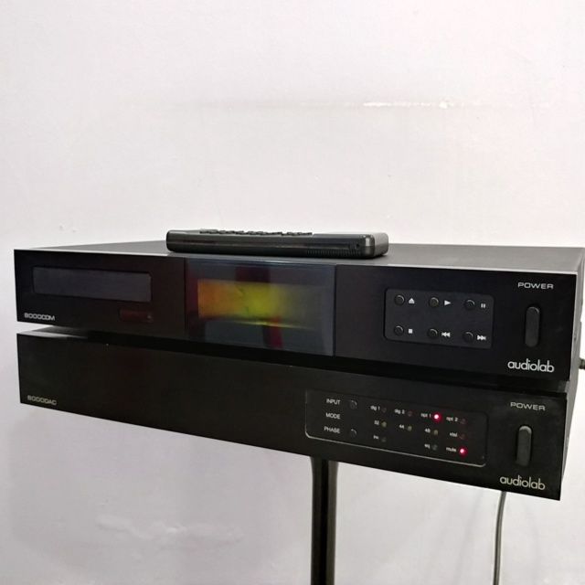 Audiolab 8000 England Made CD transport and DAC  20190212