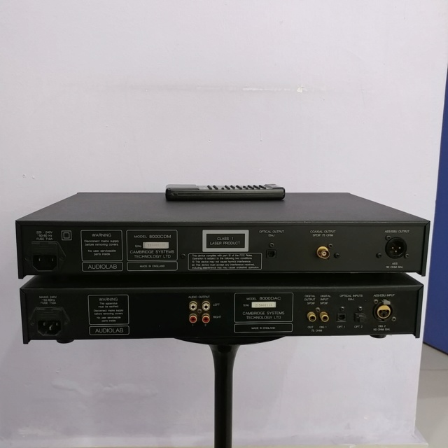 Audiolab 8000 England Made CD transport and DAC  20190215