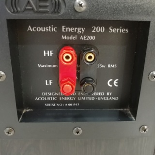 Acoustic Energy AE200 bookshelf speaker 20190225