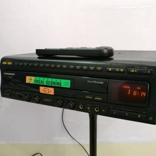 Pioneer CLD-2750K Laser Disc LD Player and CD Player  20190227