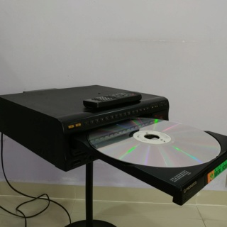 Pioneer CLD-2750K Laser Disc LD Player and CD Player  20190228