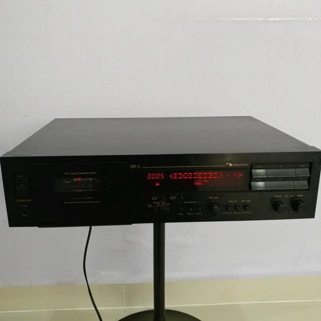 Nakamichi DR-3 Stereo Cassette Player 20190335