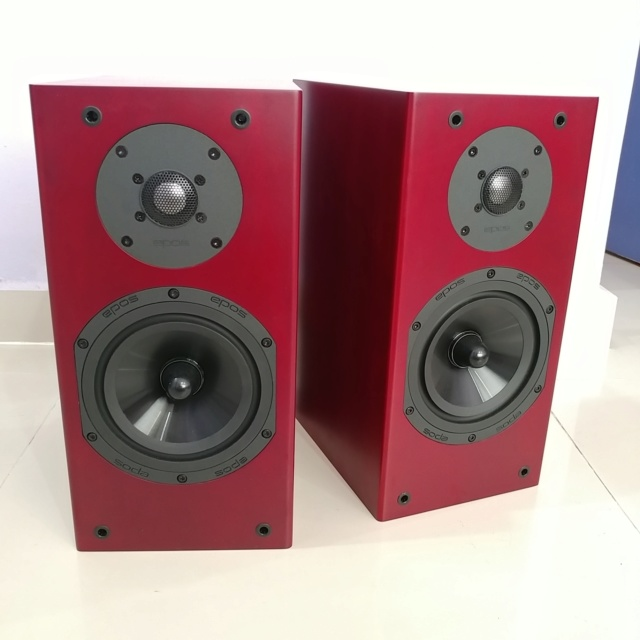 Epos M12i England Stereo Bookshelf Speaker with Box 20190510