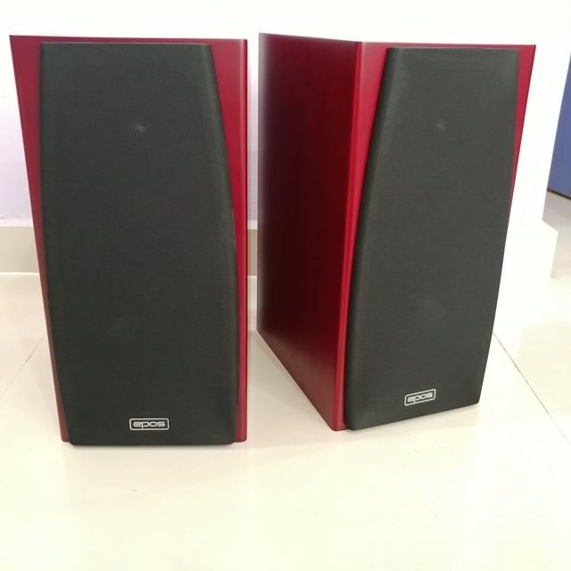 Epos M12i England Stereo Bookshelf Speaker with Box 20190512