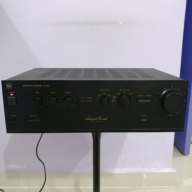 DUAL CV-5670 Germany Made Audiophile Concept High Current Stereo integrated Amplifier 20190625