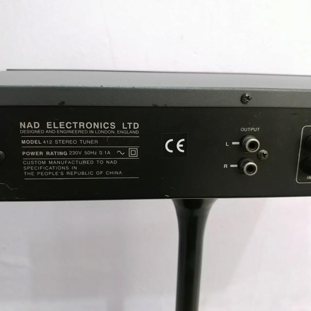 NAD 412 Stereo FM Tuner Radio Digital  20190729