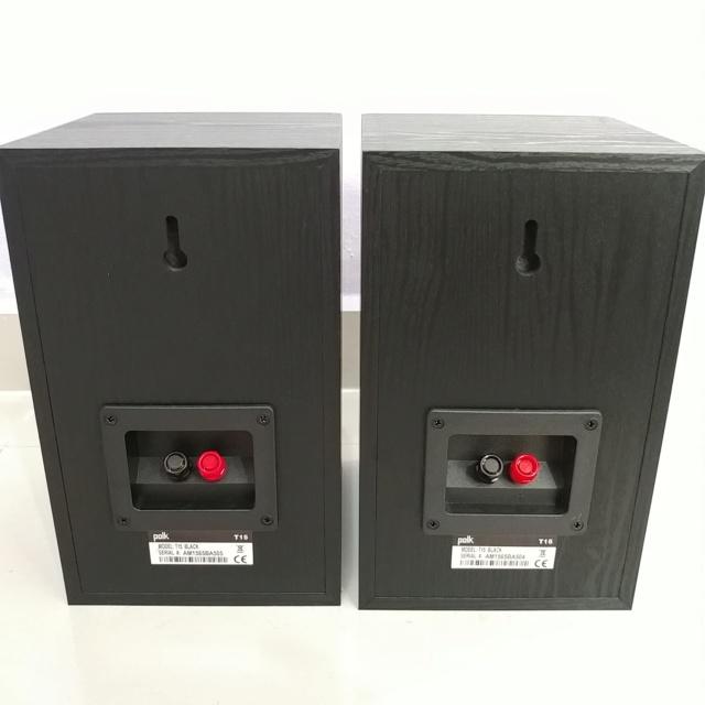Polk Audio T-Series T15 Stereo Bookshelf Speaker 20190745