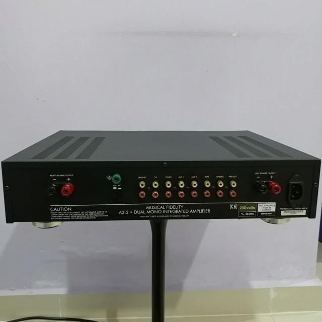 Musical Fidelity Amplifier 20190790