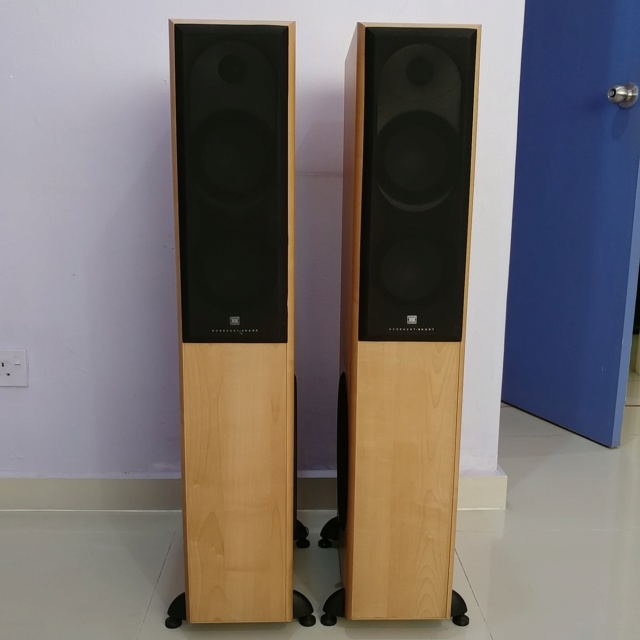 Mordaunt Short MS-502 Floorstanding Speaker Equipped with 10 Inch Active SUB 20190811