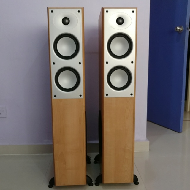 Mordaunt Short MS-502 Floorstanding Speaker Equipped with 10 Inch Active SUB 20190813