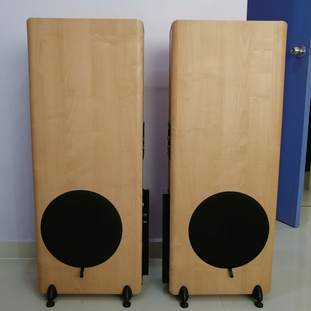 Mordaunt Short MS-502 Floorstanding Speaker Equipped with 10 Inch Active SUB 20190814