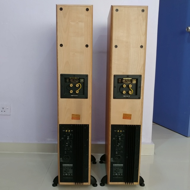 Mordaunt Short MS-502 Floorstanding Speaker Equipped with 10 Inch Active SUB 20190816