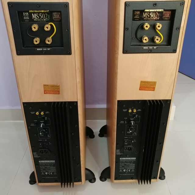 Mordaunt Short MS-502 Floorstanding Speaker Equipped with 10 Inch Active SUB 20190817